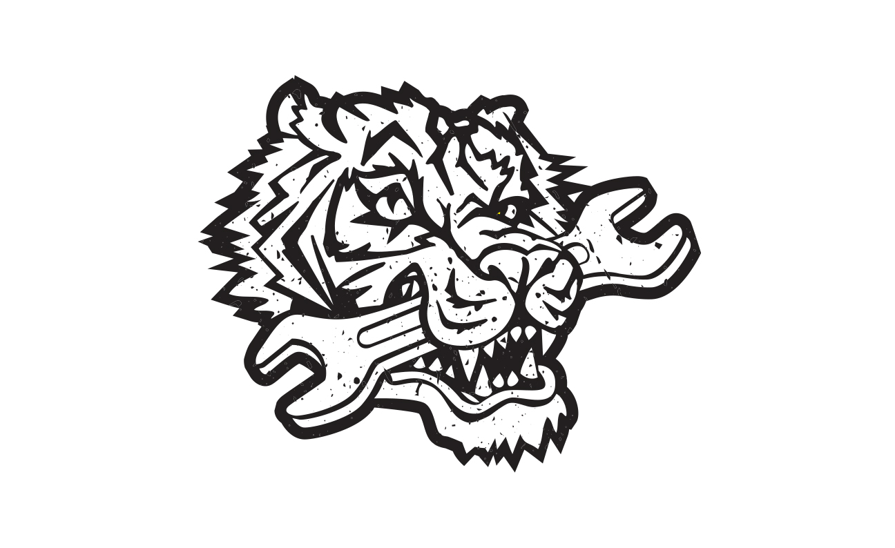 Tiger Garage Logo design