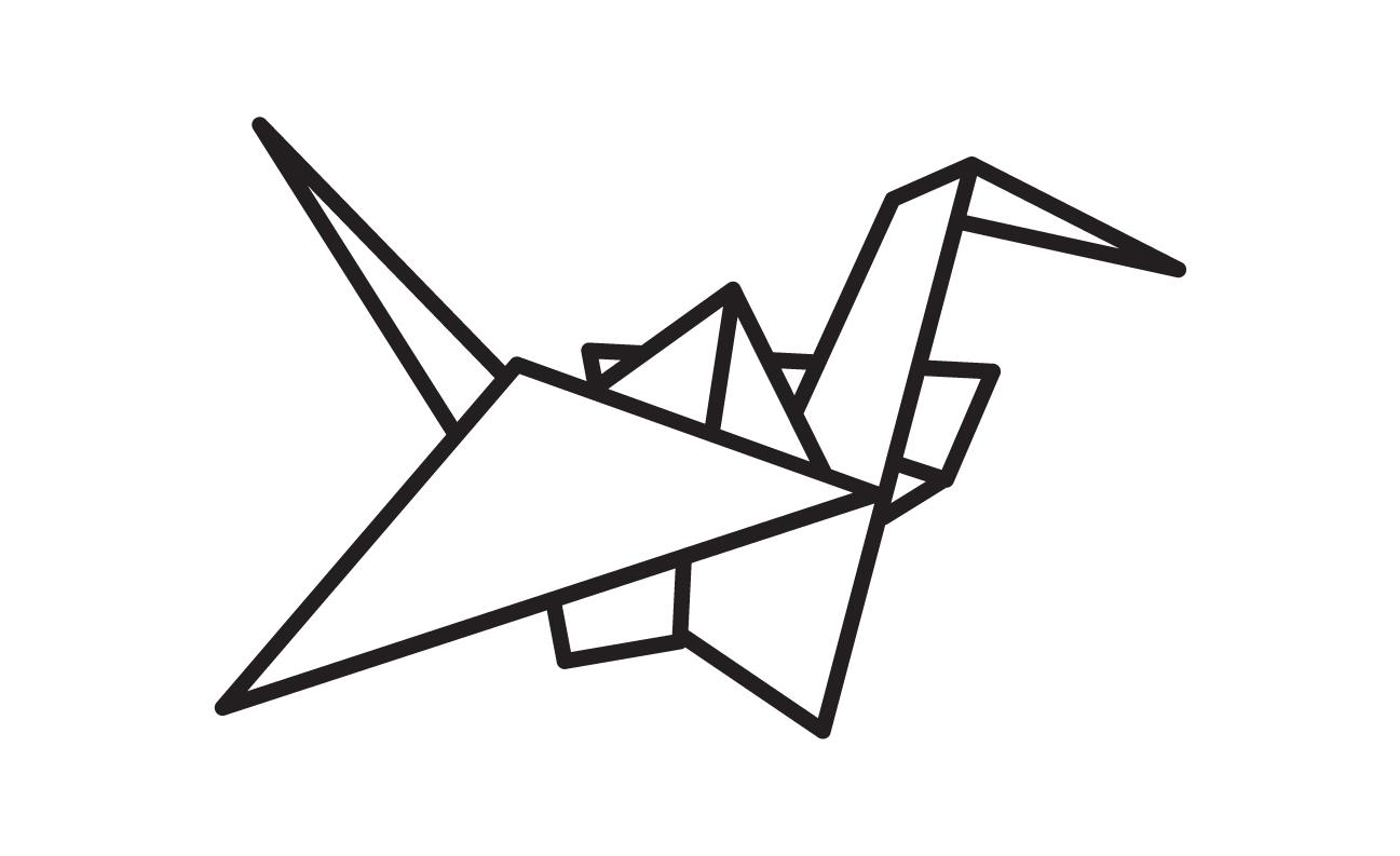 logo-oragmi-bird design